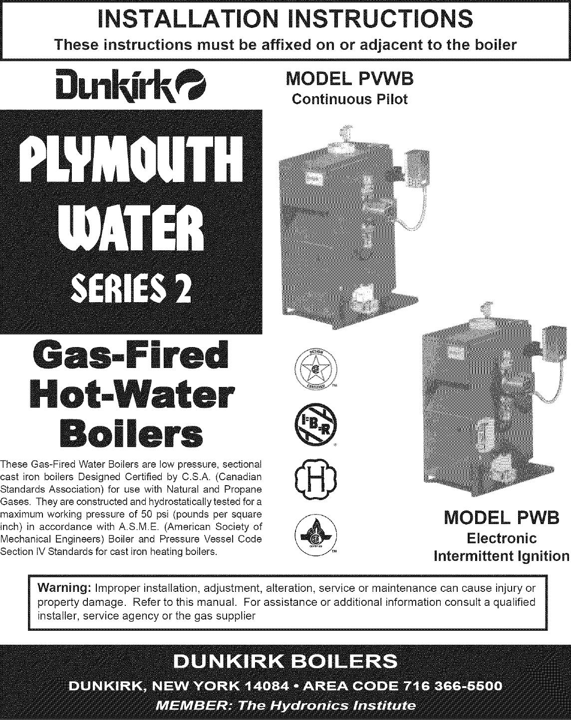 Dunkirk Boiler Wiring Diagram Trusted Diagrams Burnham Gas Manual L0612044