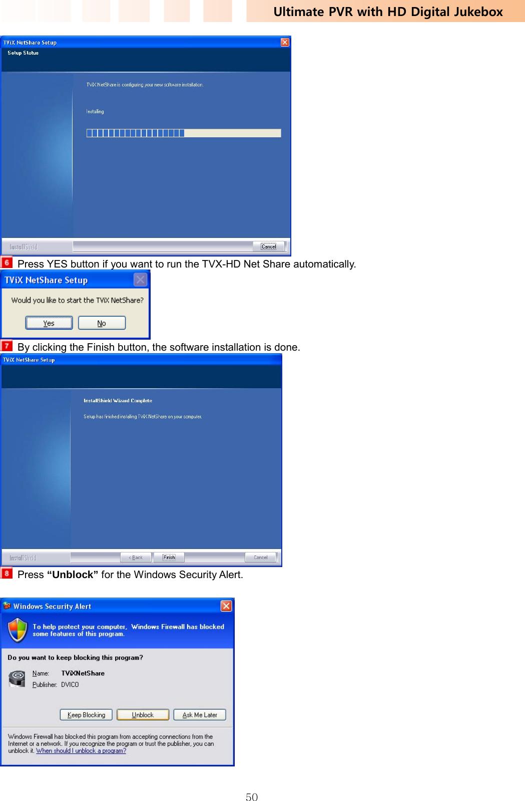 DVICO TVIXPVRM6620N Multimedia Player User Manual TViX HD