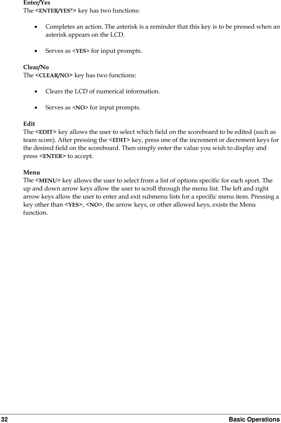 Daktronics All Sport 5000 Users Manual ED