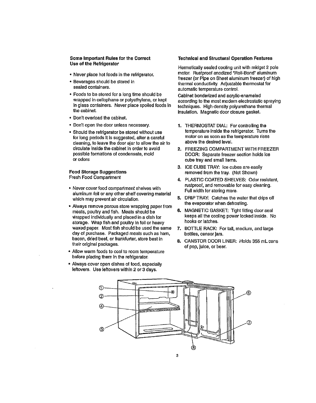 Danby DCR054W User Manual REFRIGERATOR Manuals And Guides