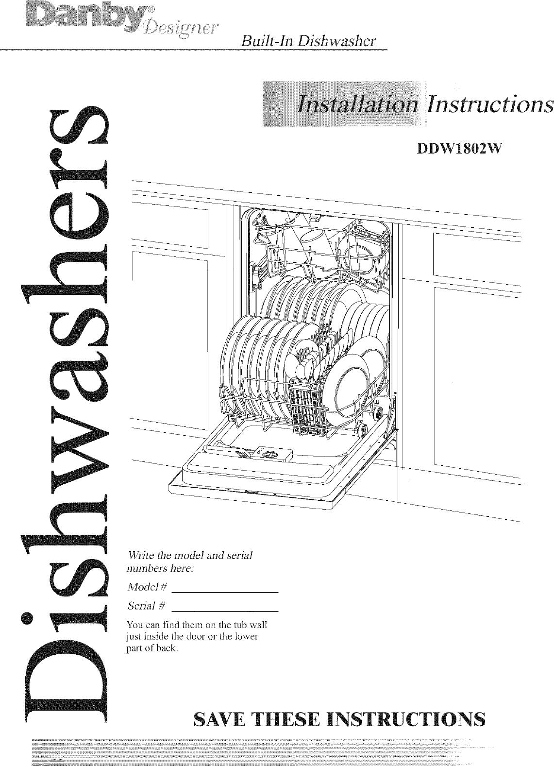 danby wiring diagram wiring diagramdanby ddw1802w user manual dishwasher manuals and guides l0712165 danby wiring diagram