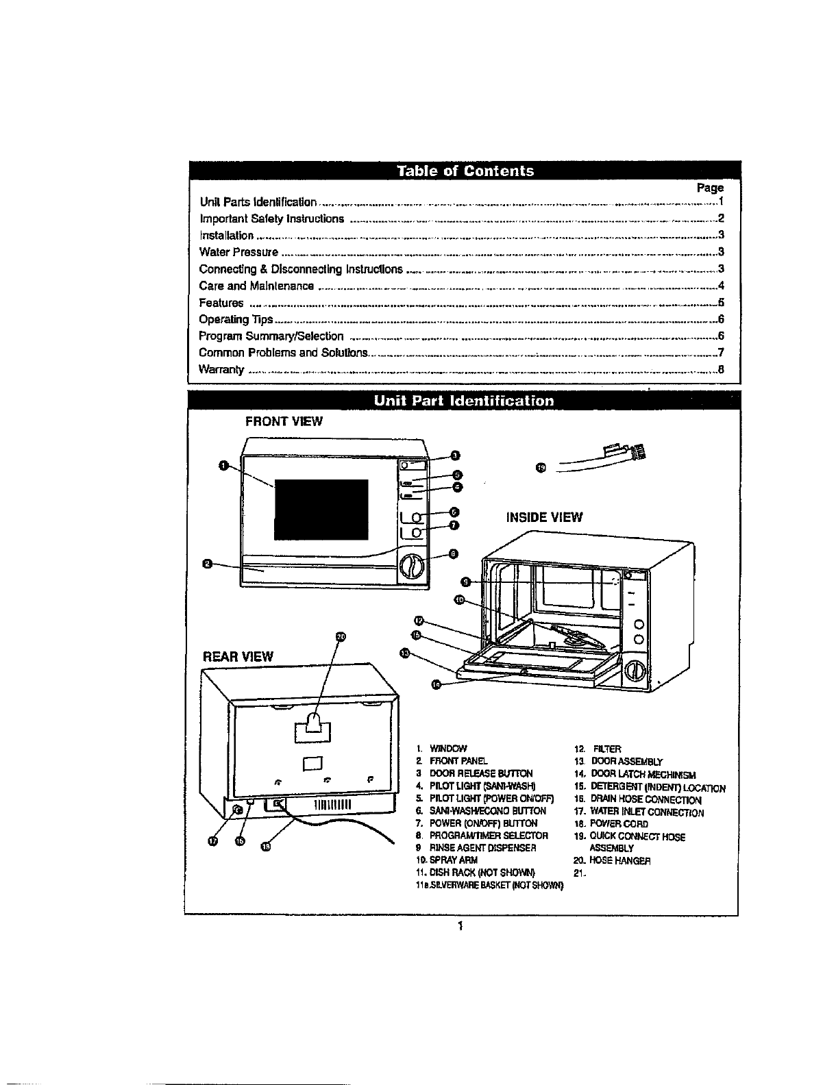Danby Dishwasher Wiring Diagram Trusted Schematics Kenmore Ddw399w User Manual Manuals And Guides L0801093