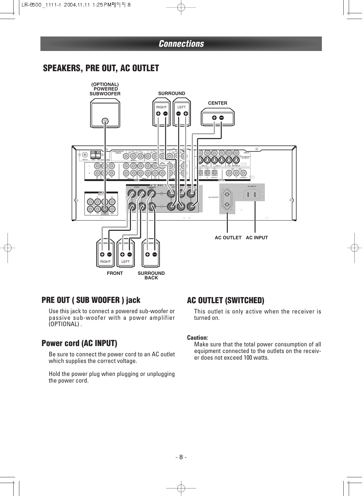 Dantax LR 6500 _1111 1 User Manual To The E88618aa 3438 69c4
