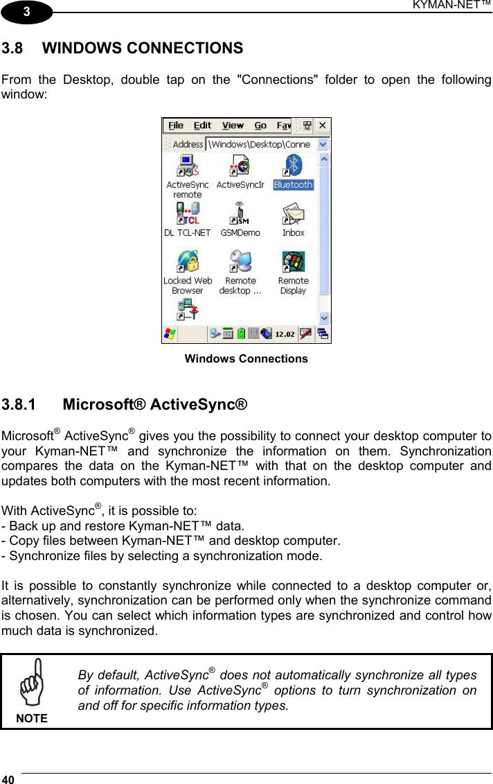Datalogic 0016 Kyman-Net User Manual pre Kyman NET Master