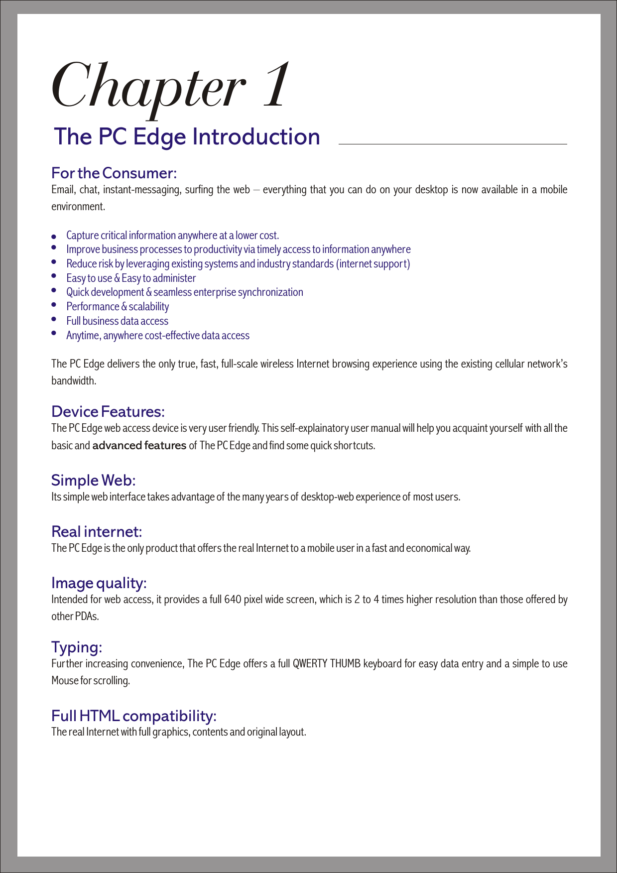 edge performance owners manual