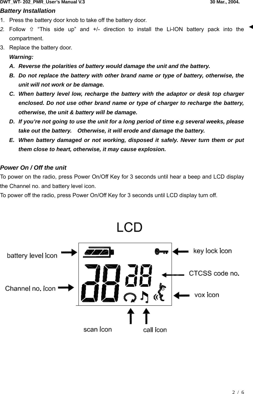 230 240v Array - daxian windsor technology wt202 gmrs u0026 frs 2 ways  radio user manual rh usermanual