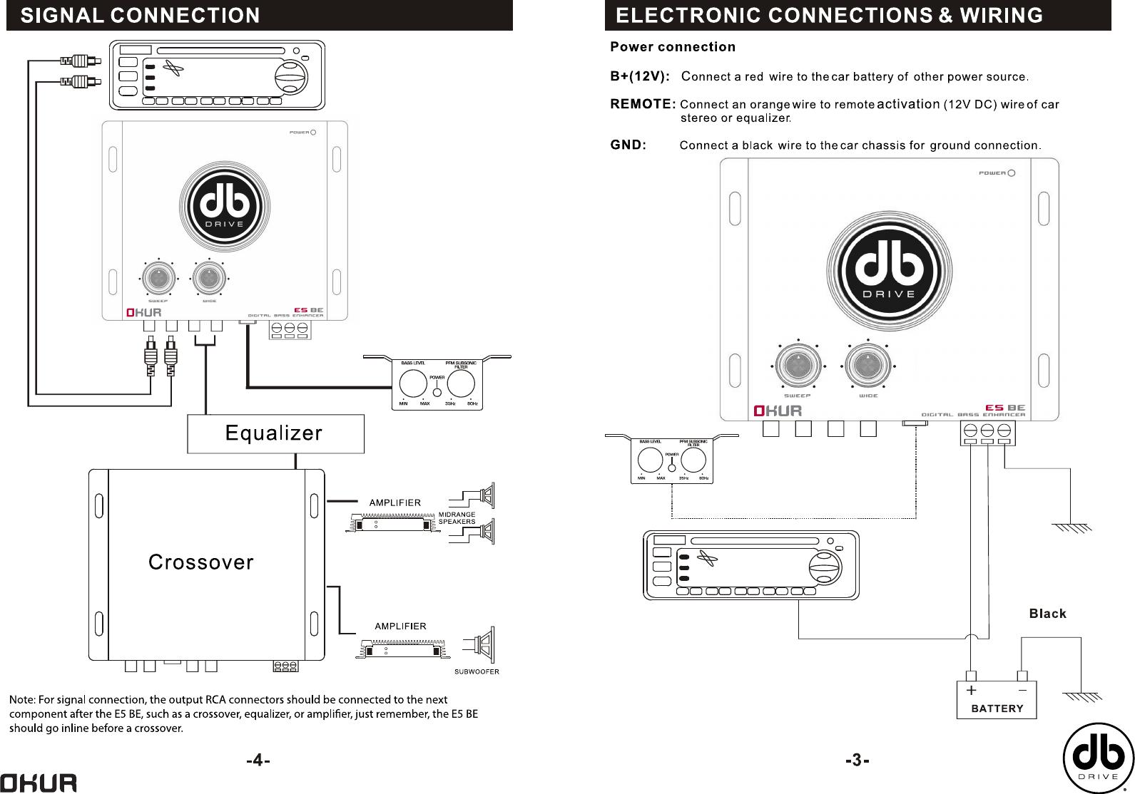 Db Drive Amp Wiring Diagram - Wiring Schematics on