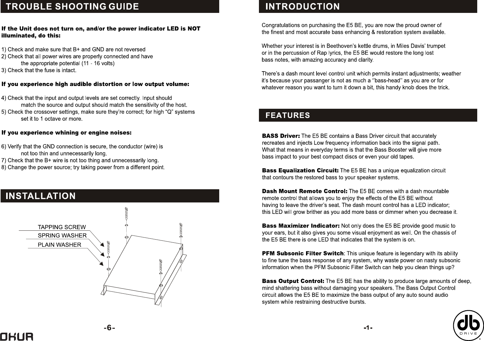 Db Industries Musical Instrument Amplifier Bass Enhancer Users Led Audio Indicator Circuit Page 2 Of 4