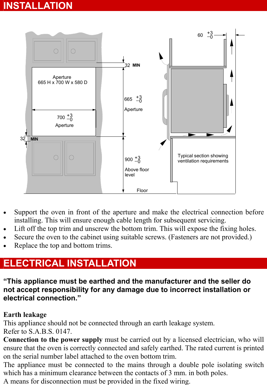 Defy Thermofan Oven Wiring Diagram