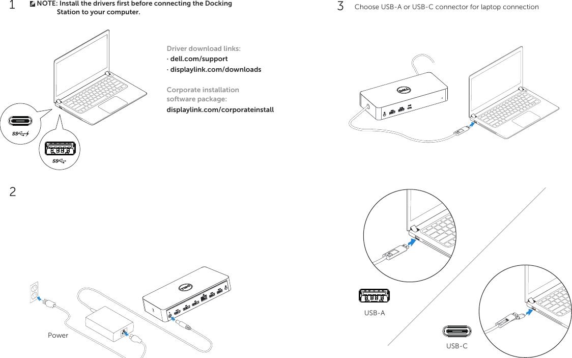 Dell Universal Dock D6000 Quick Setup Guide 1507994908dell En us