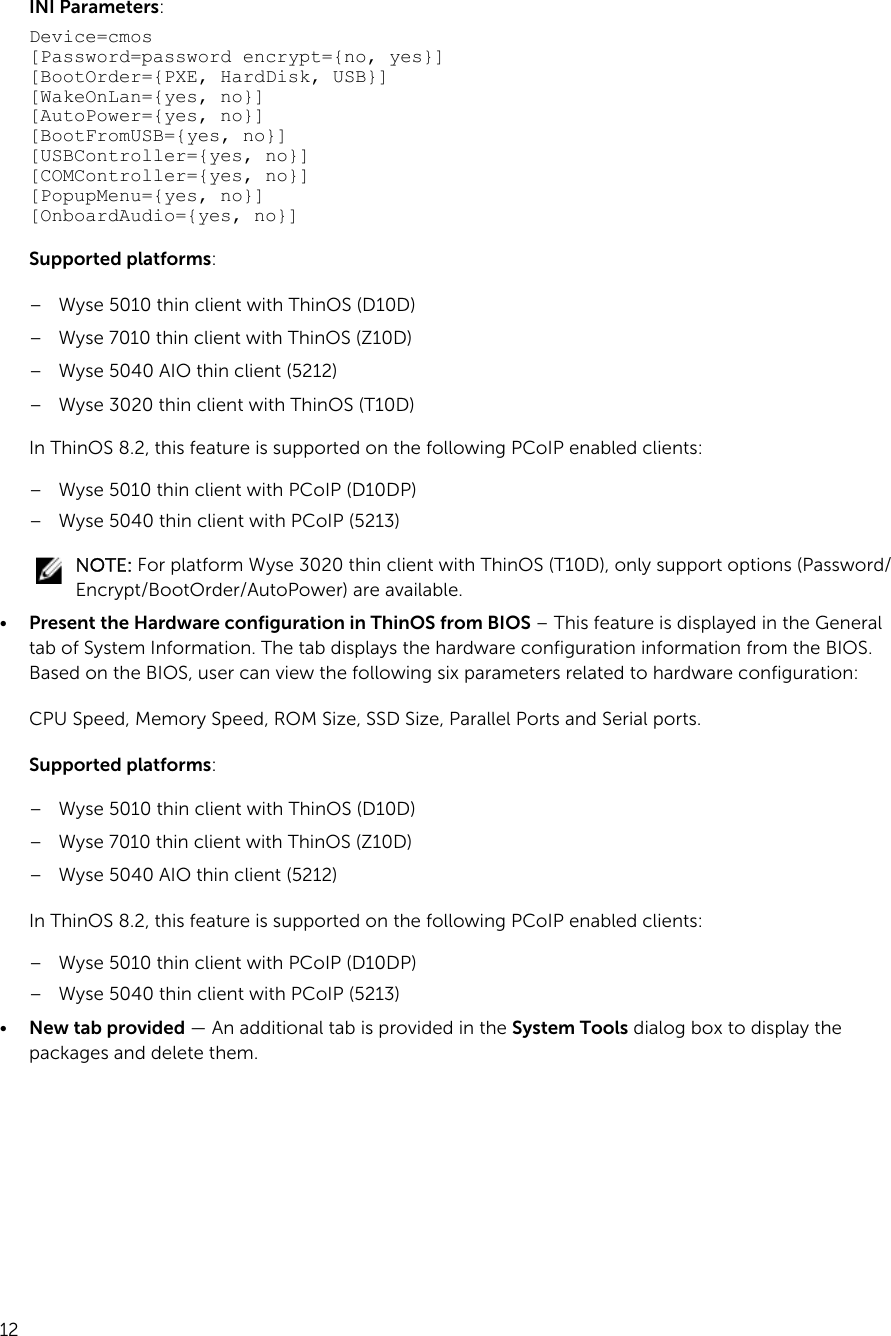 Wyse Client Support