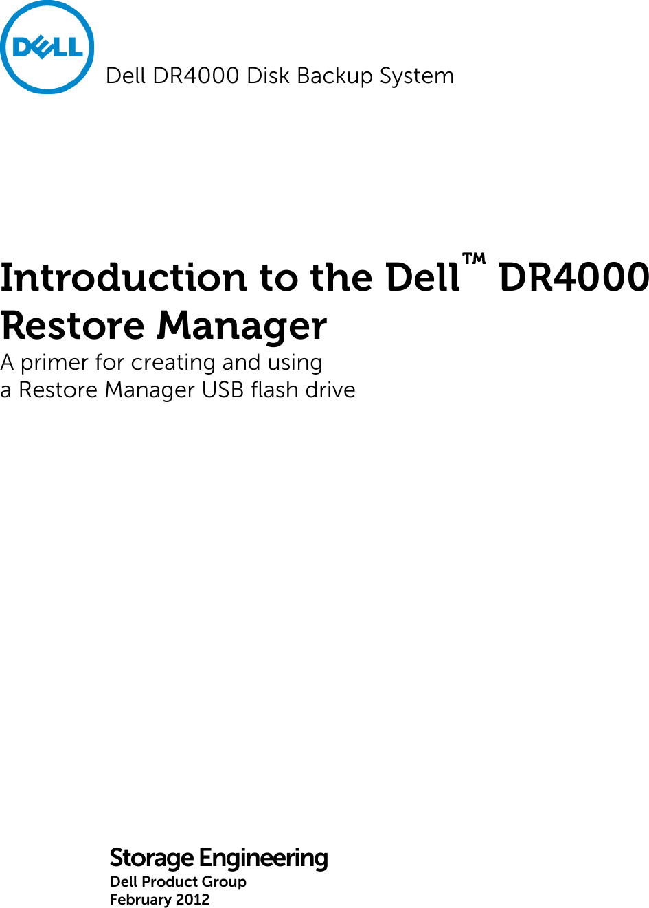 dell introduction to the dr4000 restore manager 1508079063dell rh usermanual wiki Clip Art User Guide User Guide Template