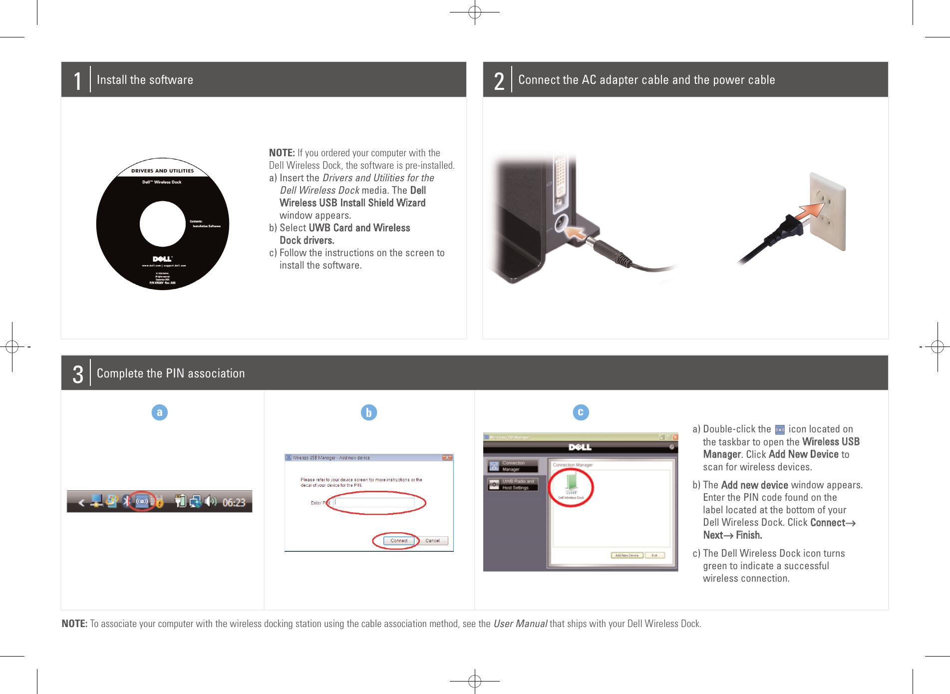 Dell 04Yjj6A00 Users Manual Setup Diagram