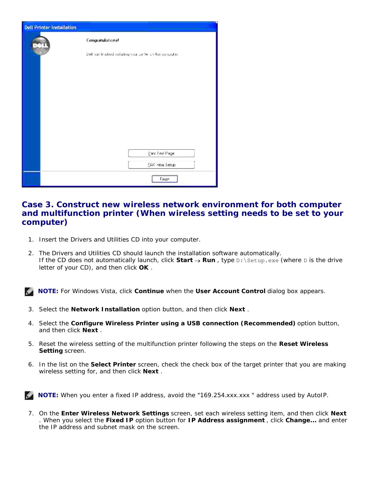 Dell 3115Cn Color Laser Printer Users Manual User's Guide