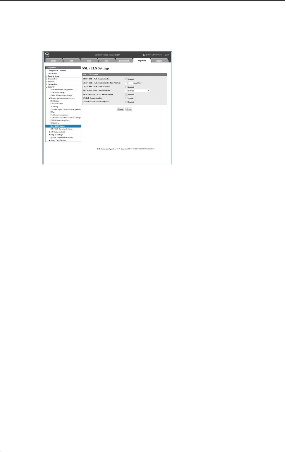 dell c5765dn default admin password
