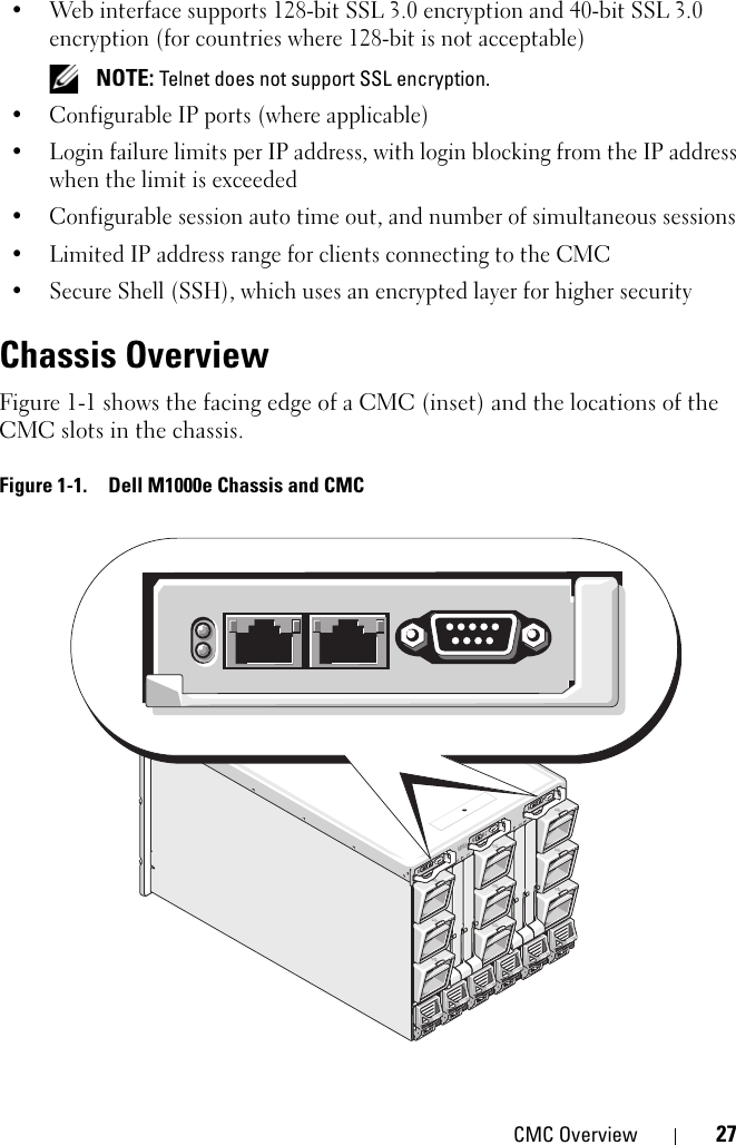 Dell Chassis Management Controller Version 1 2 Users