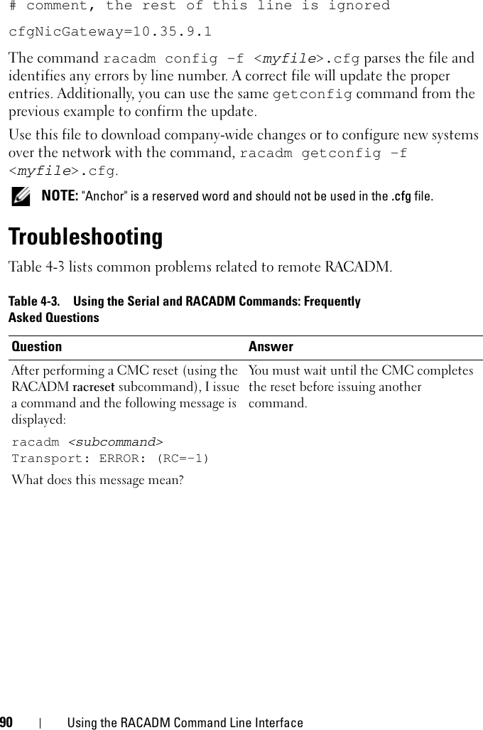 Dell Chassis Management Controller Version 1 2 Users Manual