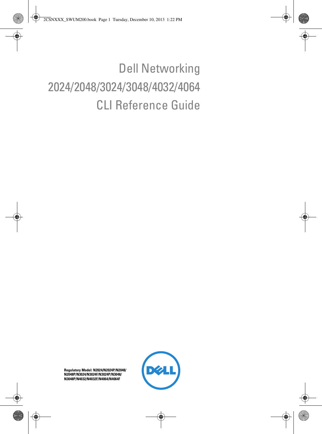 Dell Networking N2000 Series Cli Reference Guide