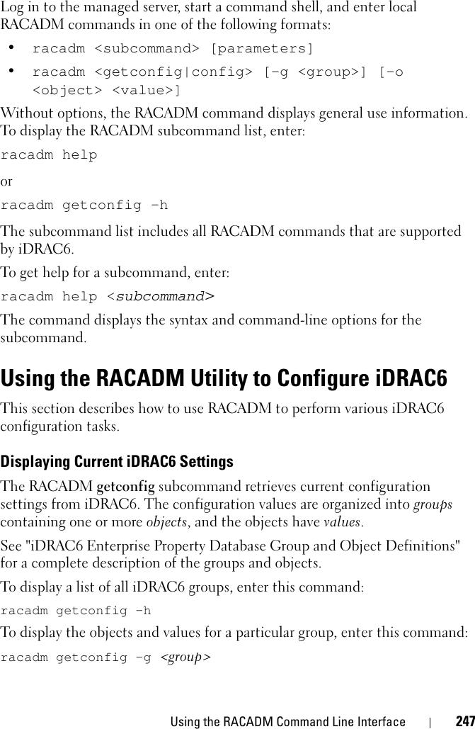 Racadm Scripts