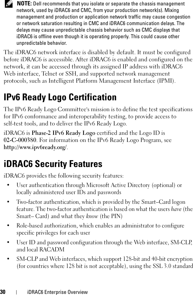 Dell Idrac6 Enterprise For Blade Servers Version 2 1 Owners