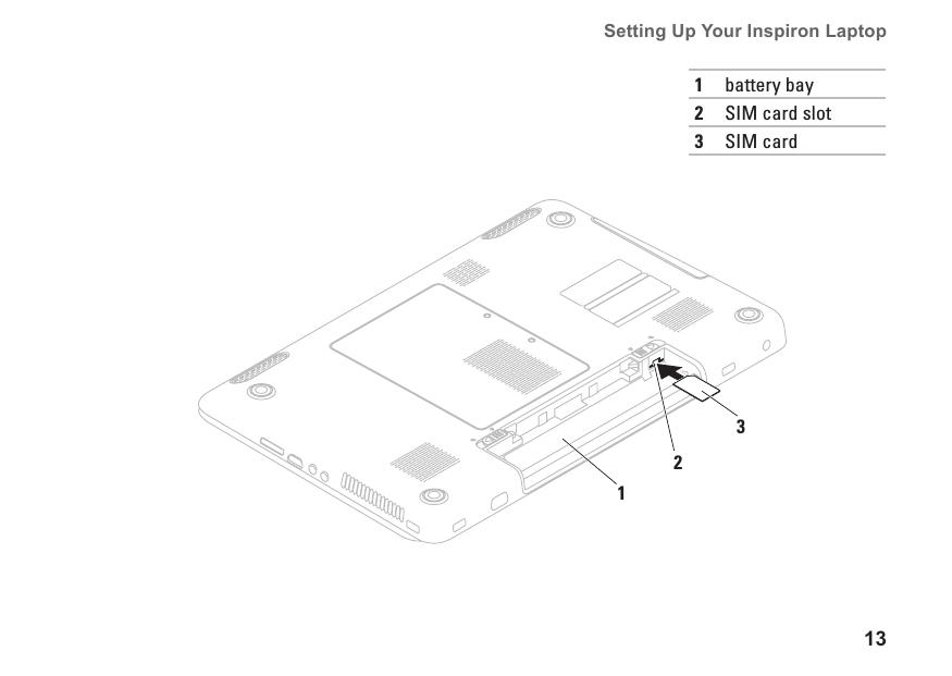 Dell Inspiron 17 N7010 Setup Guide (N7010)