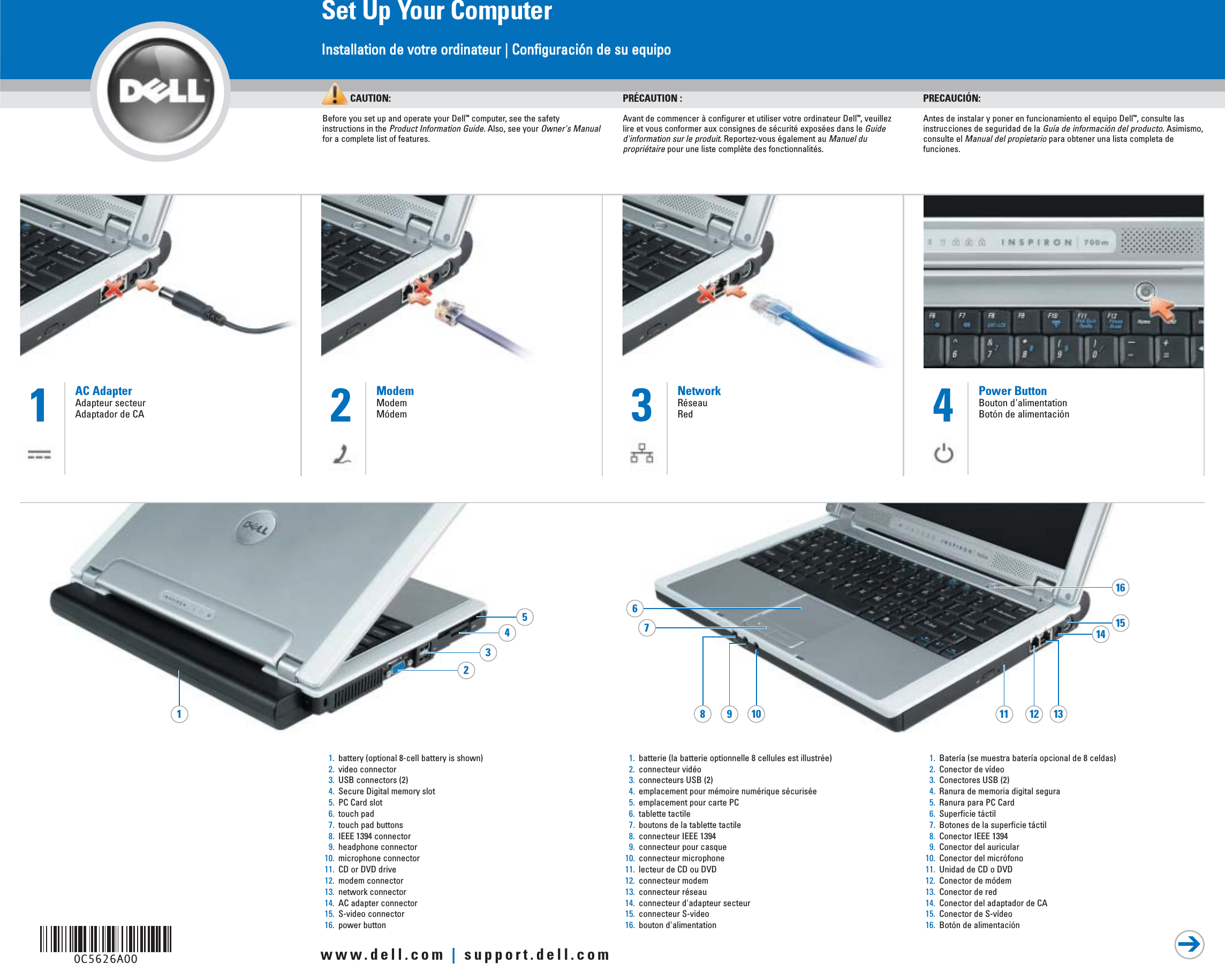DELL INSPIRON 700M ETHERNET DRIVER PC