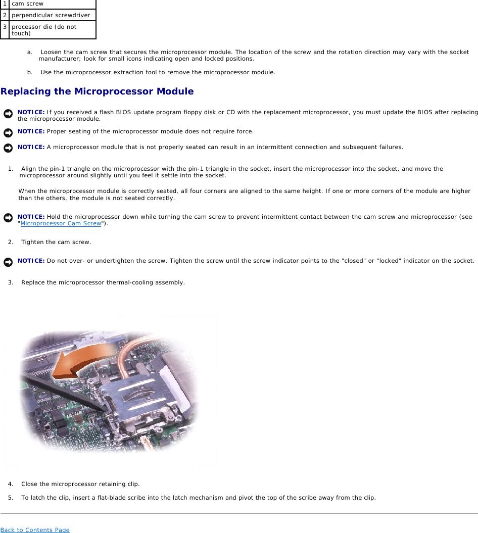 Dell Inspiron 8200 Service Manual