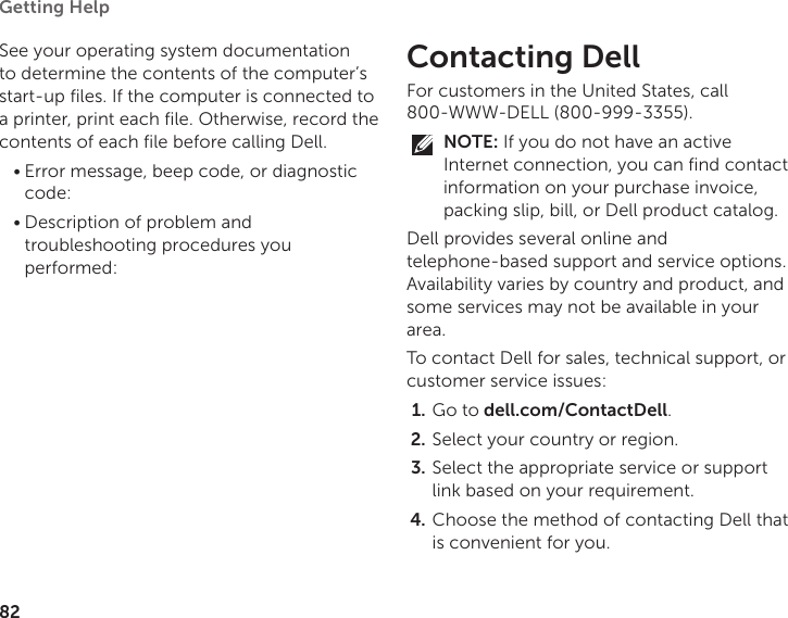 Dell Inspiron P20G Users Manual