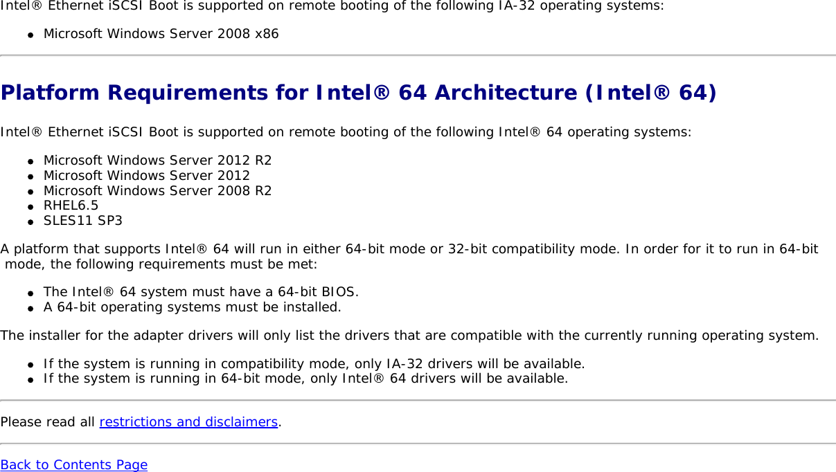 Dell Intel Pro Family Of Adapters Owners Manual Ethernet