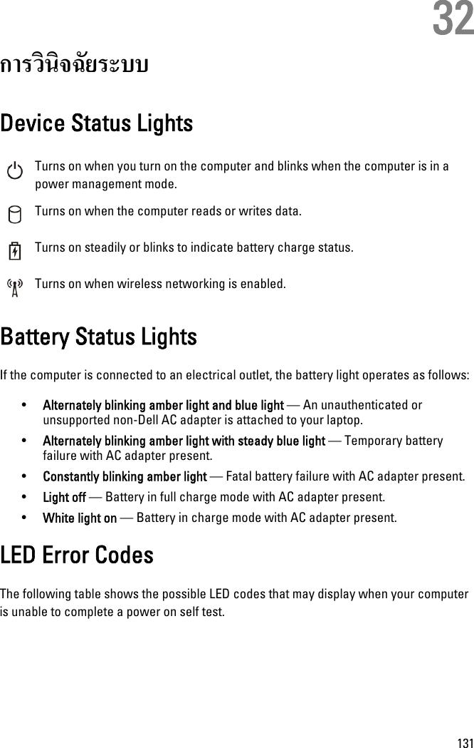 Dell Latitude E6320 Users Manual Owner's
