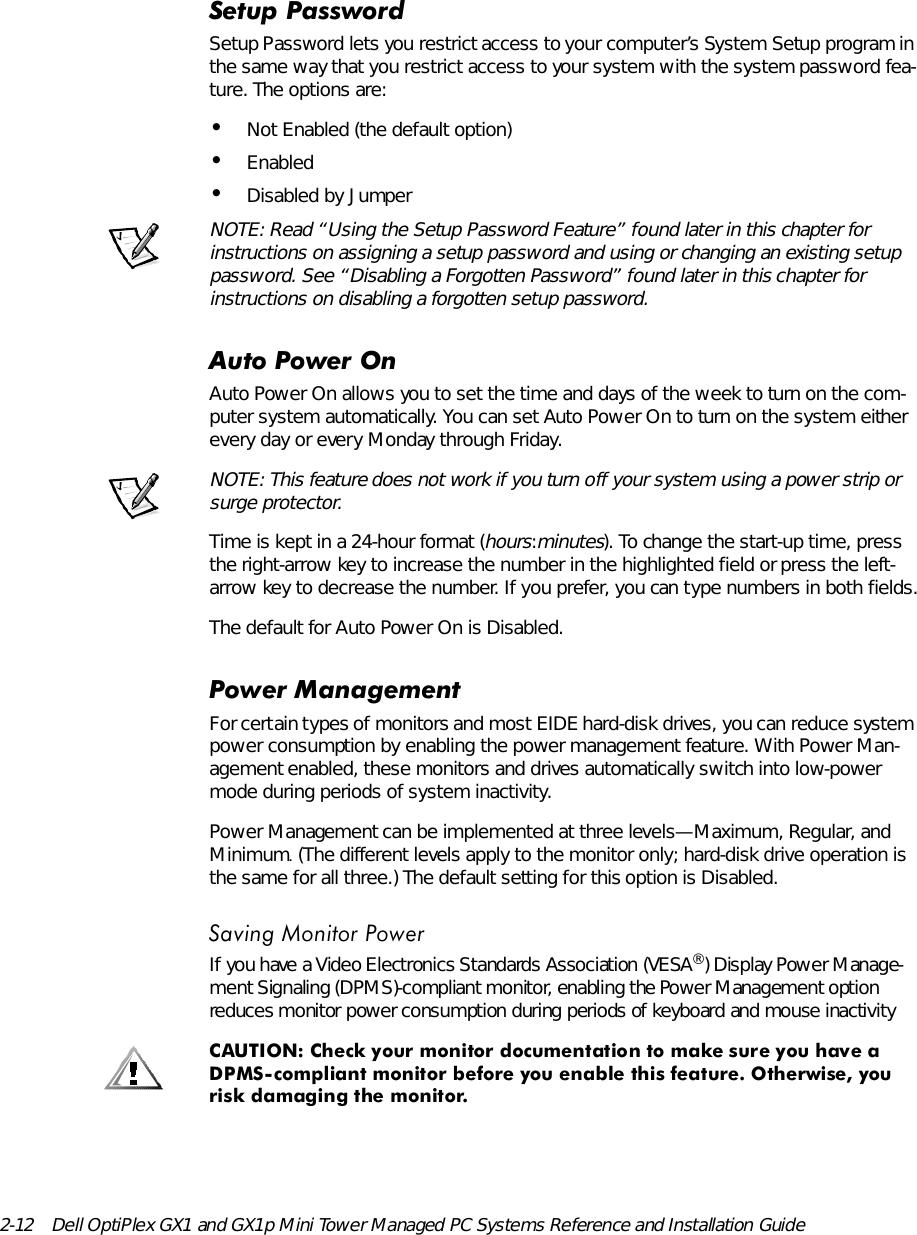 Dell Opti Plex Gx1 Users Manual 9303ebk0 bk