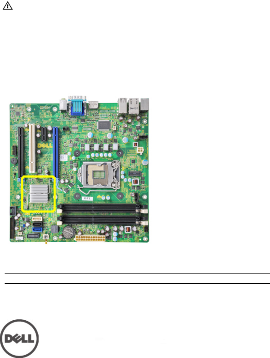 Dell Optiplex 990 Early 2011 Important Information New System Board