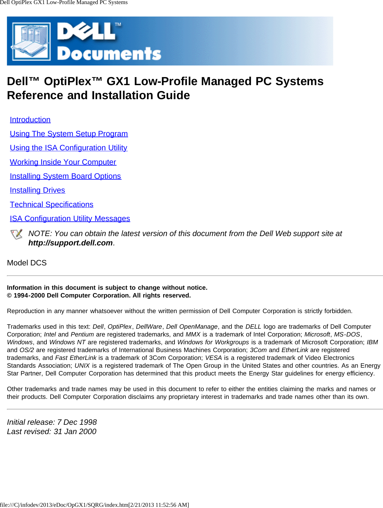 ... desktops optiplex gx1 pdf user u0027s manual free download Array - dell  optiplex gx1 quick start guide reference and installation rh usermanual wiki
