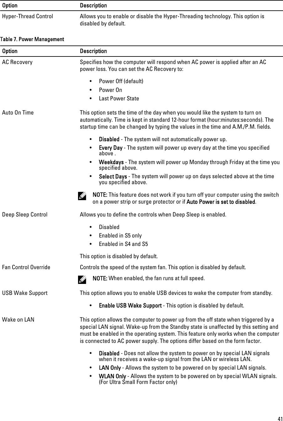 Dell Personal Computer 7010 Users Manual OptiPlex 9010/7010