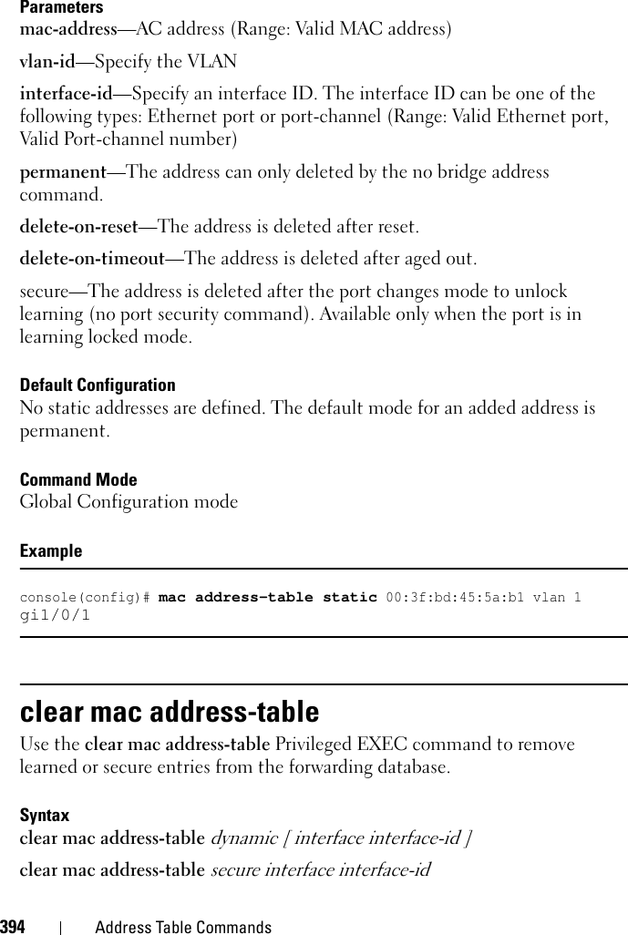 Dell Powerconnect 5548P Command Line Interface Guide 5500 Series