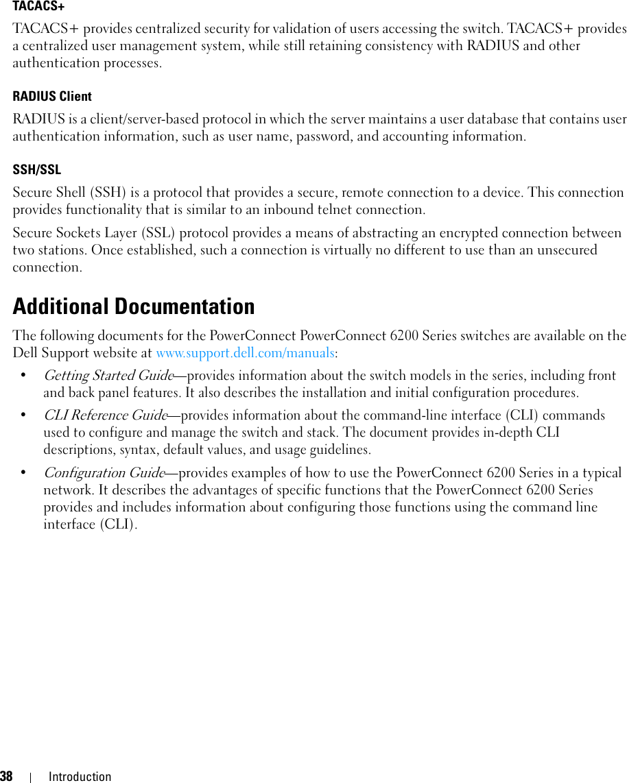 Dell Powerconnect 6224P Owners Manual User's Guide