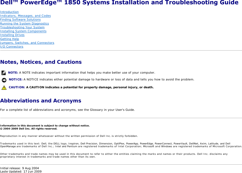 dell poweredge 1850 installation and troubleshooting guide rh usermanual wiki RV Toilets Installation Diagrams RV Toilets Installation Diagrams