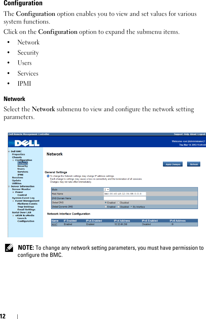 Dell Poweredge C6220 Administrators Guide Baseboard