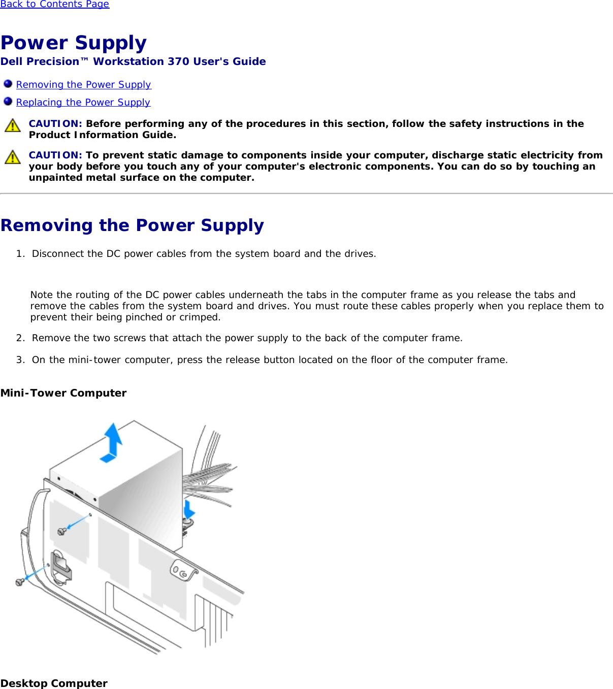 Dell Precision 370 Users Manual Workstation User's Guide