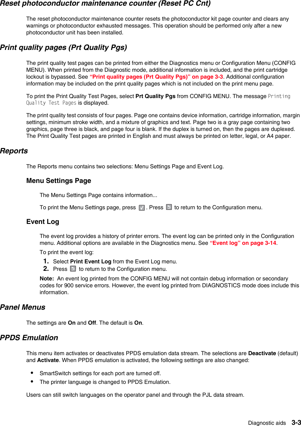 Dell Printer 2330Dn Users Manual 2330d/dn Service