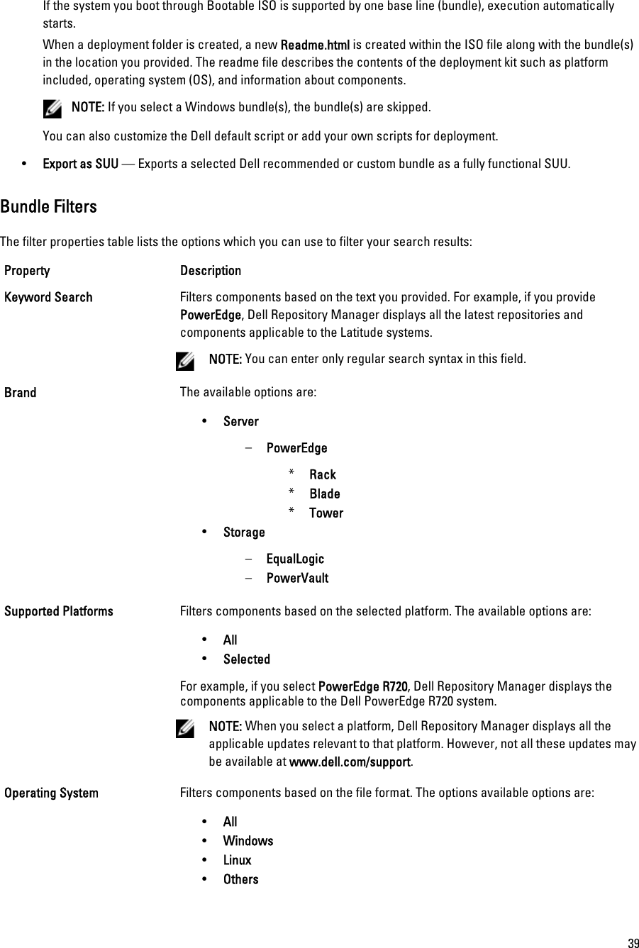 Dell Repository Manager Version 1 6 Users Manual 1 6 User's Guide