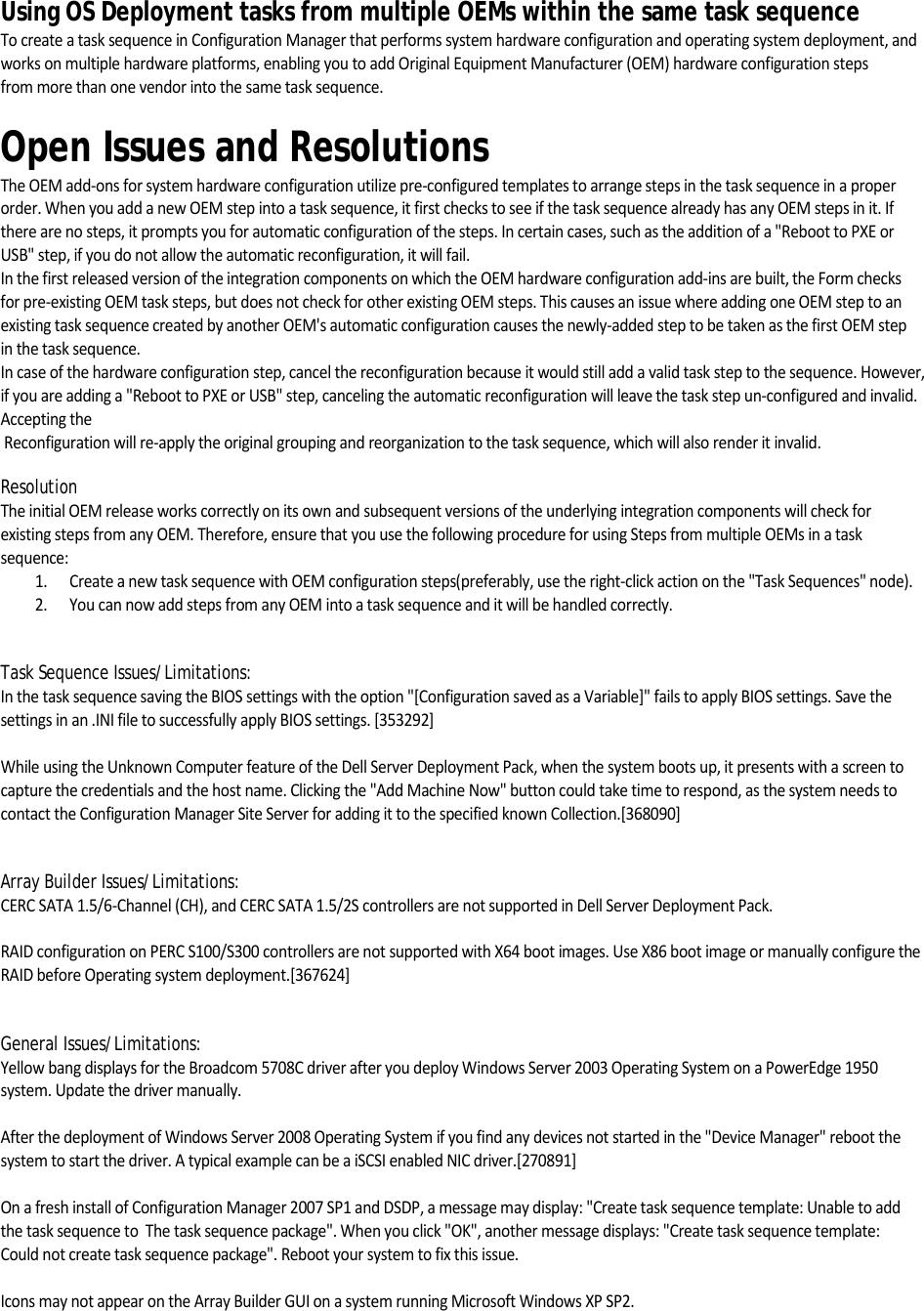 Dell Server Deployment Pack Version 2 0 For Microsoft System