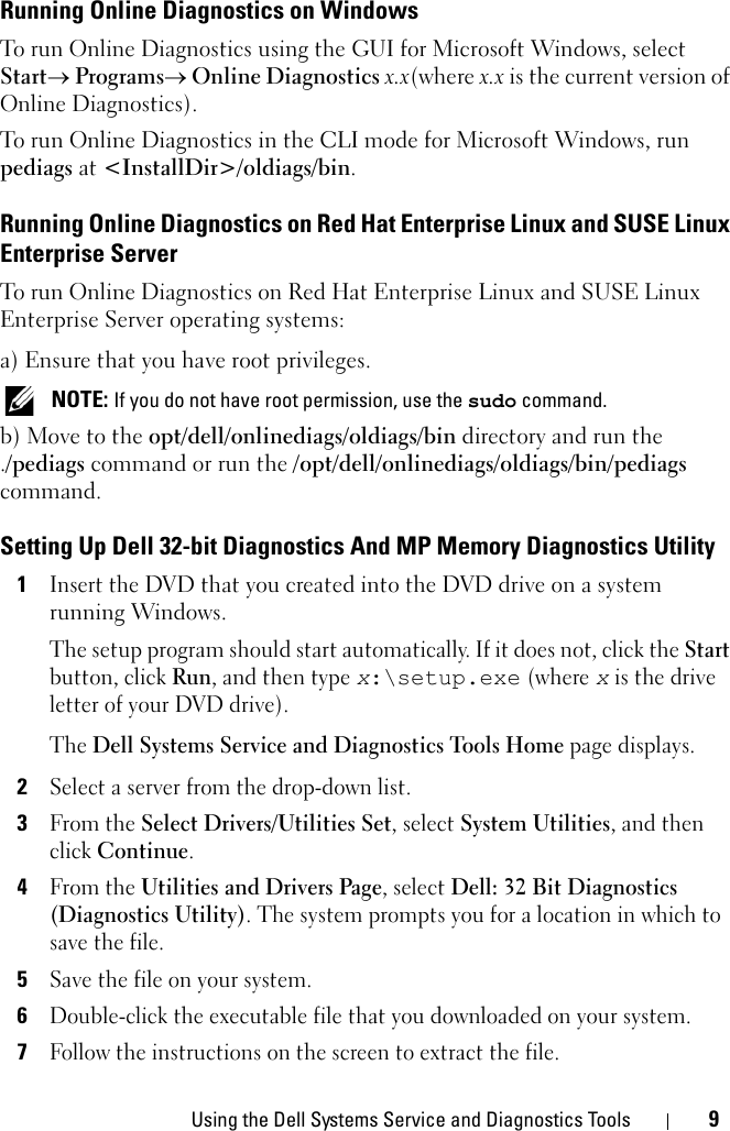 Dell System Services And Diagnostic Tools Version 6 4