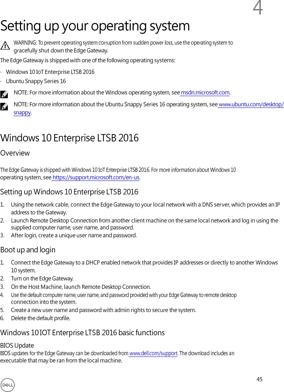 Dell N03G001 Internet of Things Gateway User Manual