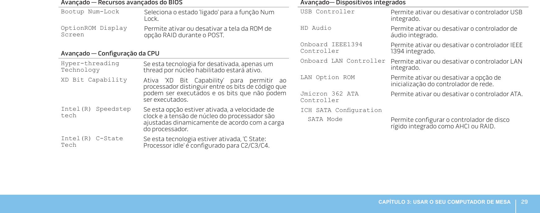 Dell Alienware aurora r3 Manual Para Computadores De Mesa User