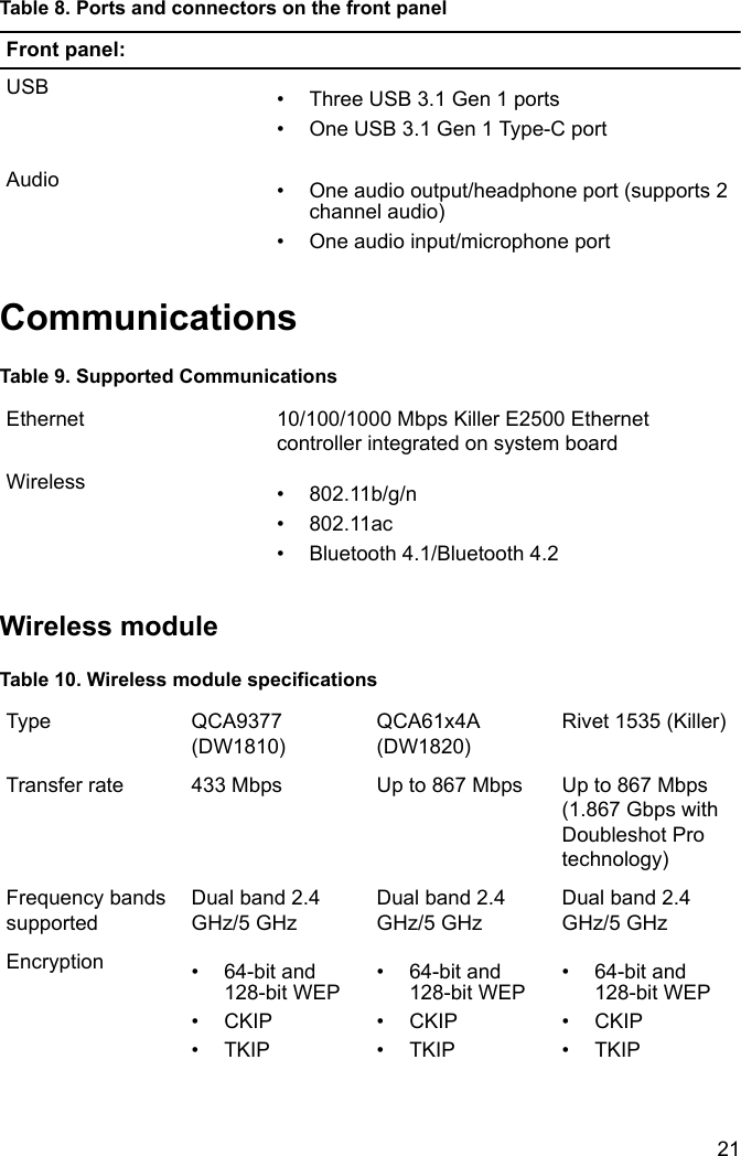 Dell Alienware aurora r7 desktop Setup And Specifications