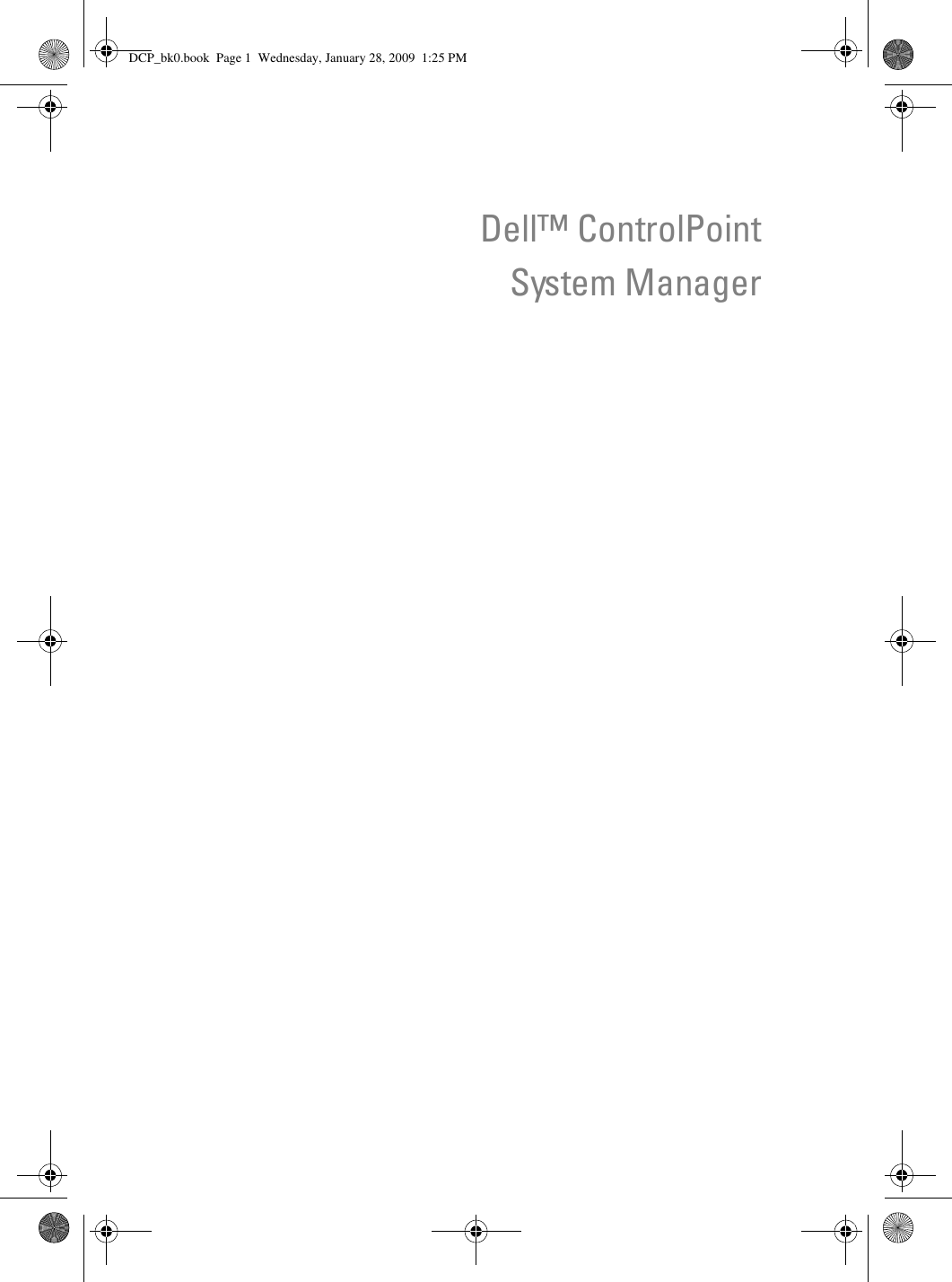 DELL CONTROLPOINT SYSTEM MANAGER WINDOWS DRIVER
