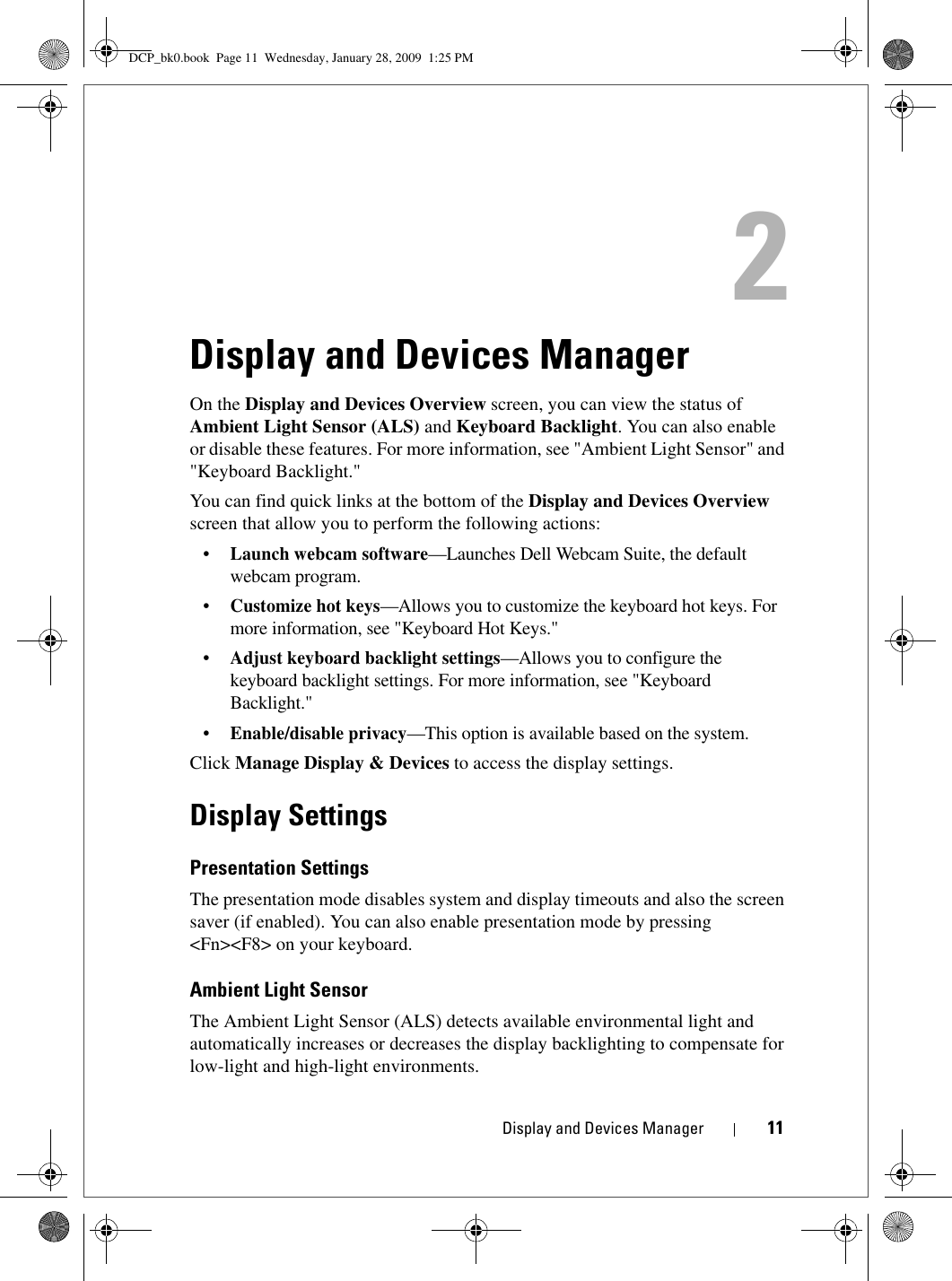 Dell cntr pnts Control Point System Manager User Manual