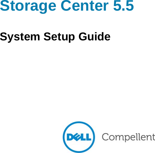 dell compellent storage center manual
