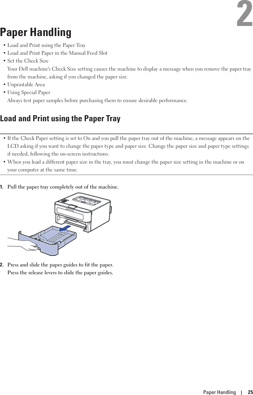 Dell e310dw printer User's Guide User Manual En us